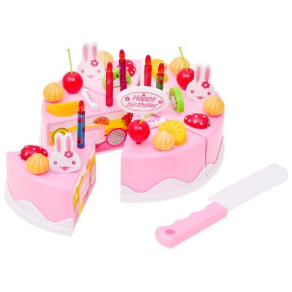Inlea4Fun DIY FRUITCAKE Szeletelhető torta szett 75 kiegészítővel