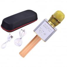 Vezeték nélküli karaoke mikrofon hangszóróval Inlea4Fun INOX - Gold Előnézet