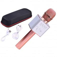 Vezeték nélküli karaoke mikrofon hangszóróval Inlea4Fun INOX - Rose Előnézet