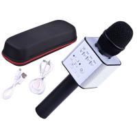 Inlea4Fun INOX Vezeték nélküli karaoke mikrofon hangszóróval - Fekete