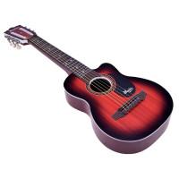 Játék gitár gyerekeknek Inlea4Fun MUSIC - Famintás