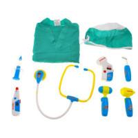 Inlea4Fun MEDICAL SET orvosi játékszett - zöld