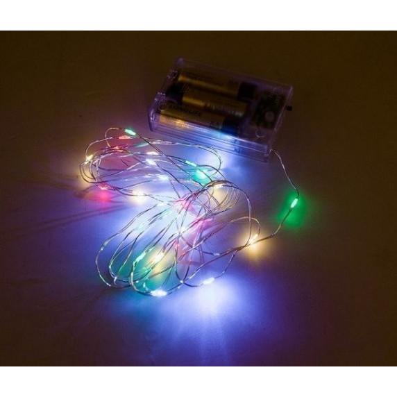 Inlea4Fun BETTY babaház LED világítással