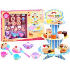 Inlea4Fun TEA PARTY Sütemény állvány kiegészítőkkel Előnézet