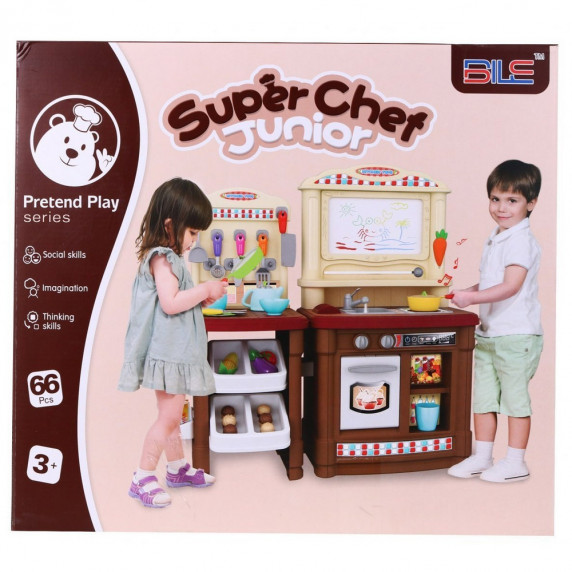 Inlea4Fun Super Chef Játékkonyha