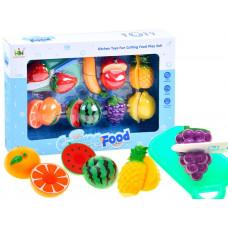 Inlea4Fun CUTTING FOOD Szeletelhető gyümölcsök  vágódeszkával Előnézet