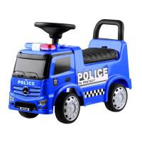 Lábbal hajtós gyerekjármű Inlea4Fun Mercedes Benz - Rendőrautó kék