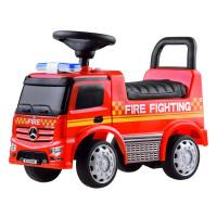 Lábbal hajtós gyerekjármű Inlea4Fun Mercedes Benz - Tűzoltó piros