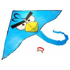 Papírsárkány Inlea4Fun ANGRY BIRDS - Kék Előnézet