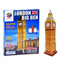 3D puzzle London Big Ben MAGIC PUZZLE - 30 darabos Előnézet