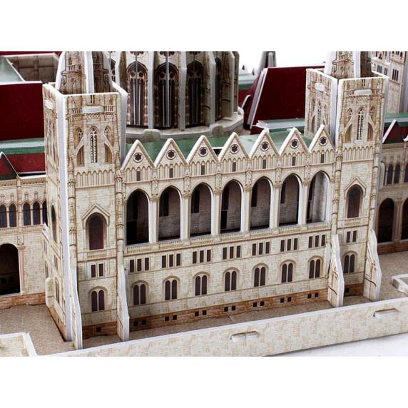 3D puzzle Magyar Országház CLEVER&HAPPY - 237 darabos