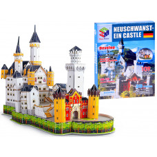 3D puzzle Neuschwanstein kastély MAGIC PUZZLE - 109 darabos Előnézet