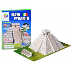 3D puzzle Chichén Itza Maja piramis MAGIC PUZZLE - 19 darabos Előnézet