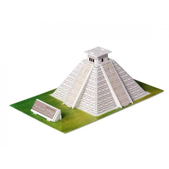 3D puzzle Chichén Itza Maja piramis MAGIC PUZZLE - 19 darabos