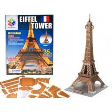 3D puzzle Eiffel torony MAGIC PUZZLE - 35 darabos Előnézet