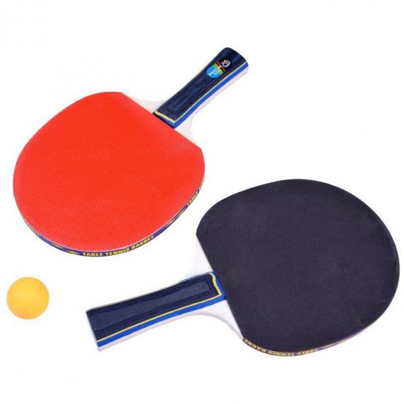 Ping-pong asztaliteniszütő készlet Inlea4Fun PING PONG BALLS - labda, ütő, háló