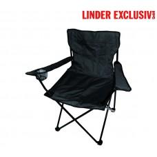ANGLER PO2430 Black kemping szék Előnézet