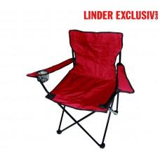 ANGLER PO2455 Red kemping szék Előnézet
