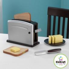 KidKraft Espresso toaster set 63373 Előnézet