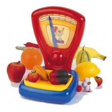 Klein játék mérleg gyümölcsökkel és zöldséggel Előnézet