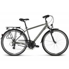 """KROSS Trekking Férfi kerékpár Trans 2.0 17"""" S 2020 - fényes grafit szürke / szürke / ezüst Előnézet"""