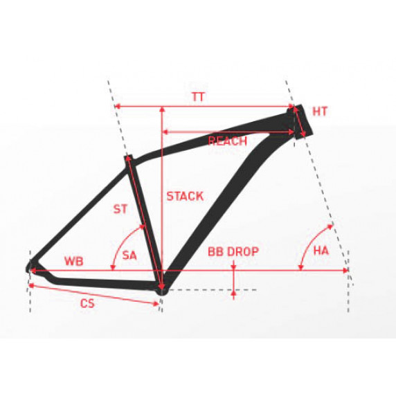 """KROSS MTB Hegyi kerékpár HEXAGON 3.0 17"""" S 2019 - matt fekete / piros / ezüst"""
