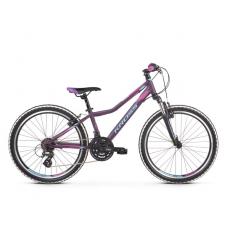 """KROSS JUNIOR Gyerek kerékpár Lea Jr 2.0 12"""" 2019 - matt lila / kék / rózsaszín Előnézet"""