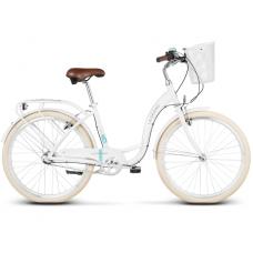 """LE GRAND Utility Női városi kerékpár Lille 3 15"""" S 2019 - fényes fehér Előnézet"""