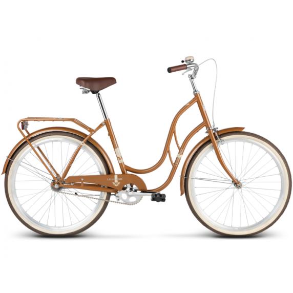 "LE GRAND Classic Női kerékpár Madison 1 18"" M 2019 - fényes barna"