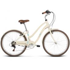 """LE GRAND Comfort Női városi kerékpár Pave 1 14"""" S 2019 - fényes krémszínű Előnézet"""