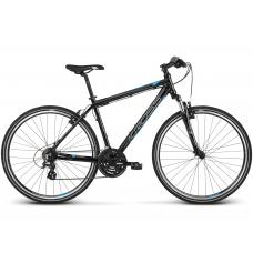 """KROSS Cross Férfi kerékpár Evado 2.0 17"""" S 2020 - fekete / kék Előnézet"""
