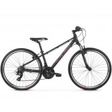 """KROSS JUNIOR Gyerek kerékpár Evado Jr 1.0 13"""" 2020 - matt fekete / piros / ezüst Előnézet"""