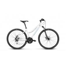"""KROSS Cross Női kerékpár Evado 4.0 17"""" DL 2020 - fényes fehér Előnézet"""