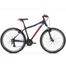 """KROSS MTB WOMAN Női hegyi kerékpár LEA 2.0 15"""" XS - matt fekete / málna / lila Előnézet"""