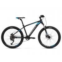 """KROSS JUNIOR Gyerek kerékpár Level Jr 3.0 14"""" 2020 - matt fekete / kék / ezüst"""