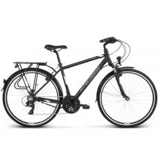 """KROSS Trekking Férfi kerékpár Trans 1.0 17"""" S 2020 - matt fekete / fehér Előnézet"""