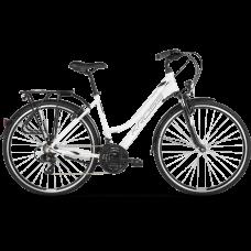 """KROSS Trekking Női kerékpár Trans 1.0 SR 21"""" L 2020 - fehér/szürke Előnézet"""