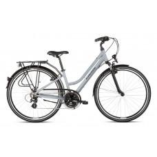 """KROSS Trekking Női kerékpár Trans 2.0 SR 21"""" L 2020 - szürke/fekete Előnézet"""