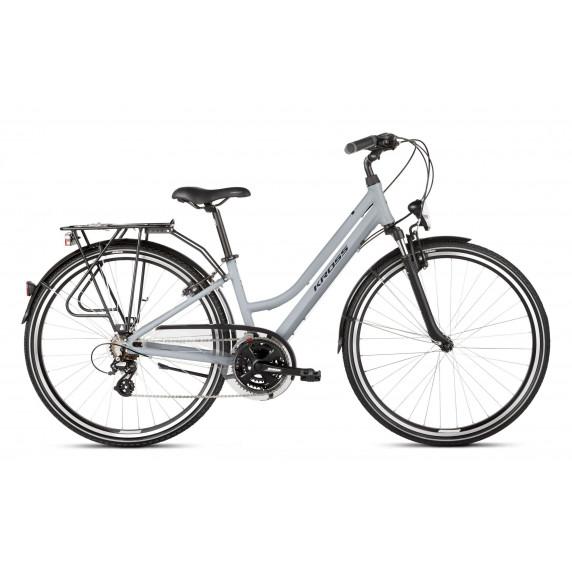 """KROSS Trekking Női kerékpár Trans 2.0 SR 21"""" L 2020 - szürke/fekete"""