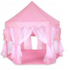 Kiduku Princess gyerek sátor - Rózsaszín Előnézet