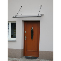 LANITPLAST bejárati tető TURKUS 140/85 - Antracit