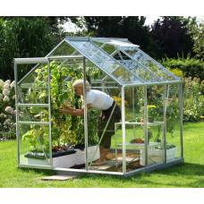 LanitGarden üvegház átlátszó üveggel VITAVIA VENUS 3800 3 mm - Ezüst Előnézet