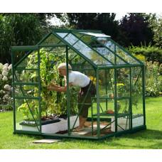 LanitGarden üvegház átlátszó üveggel VITAVIA VENUS 3800 3 mm - Zöld Előnézet