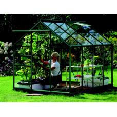 LanitGarden üvegház átlátszó üveggel VITAVIA VENUS 5000 3 mm - Zöld Előnézet
