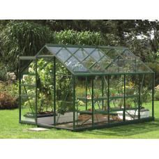 LanitGarden üvegház átlátszó üveggel VITAVIA VENUS 6200 3 mm - Zöld Előnézet