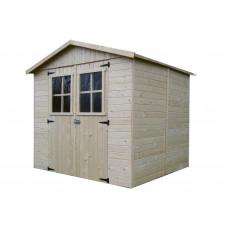 Kerti tároló ház SOLID EVA 229x194 cm Előnézet