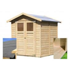 Fa kerti tároló ház KARIBU DAHME 3 (14437) SET Előnézet