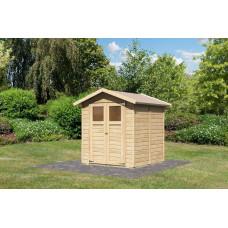 Fa kerti tároló ház KARIBU DALIN 1 (144438) SET Előnézet