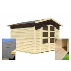 Fa kerti tároló ház KARIBU AMBERG 4 (14440) SET Előnézet