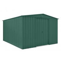 Kerti tároló ház tetőablakkal GLOBEL 1012 - zöld